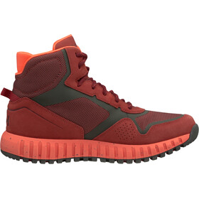 Helly Hansen Monashee ULLR HT Chaussures Femme, red brick/beluga/bright bloom